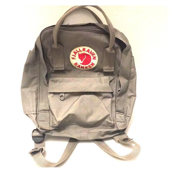 3259cadb85a2 Fjallraven Handbags - Fjallraven MINI Kanken Water Resistant BackPack